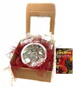 Gift Boxed Cookbook & Masala Dabba Tin [with Spices] | Buy Online at the Asian Cookshop